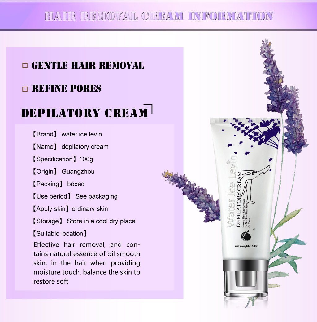 Hair Removal Cream, ZUTOBO Depilatory Cream, Hair Removal Of Full Body, Face & Bikini and Underarm,Natural Plant Essence