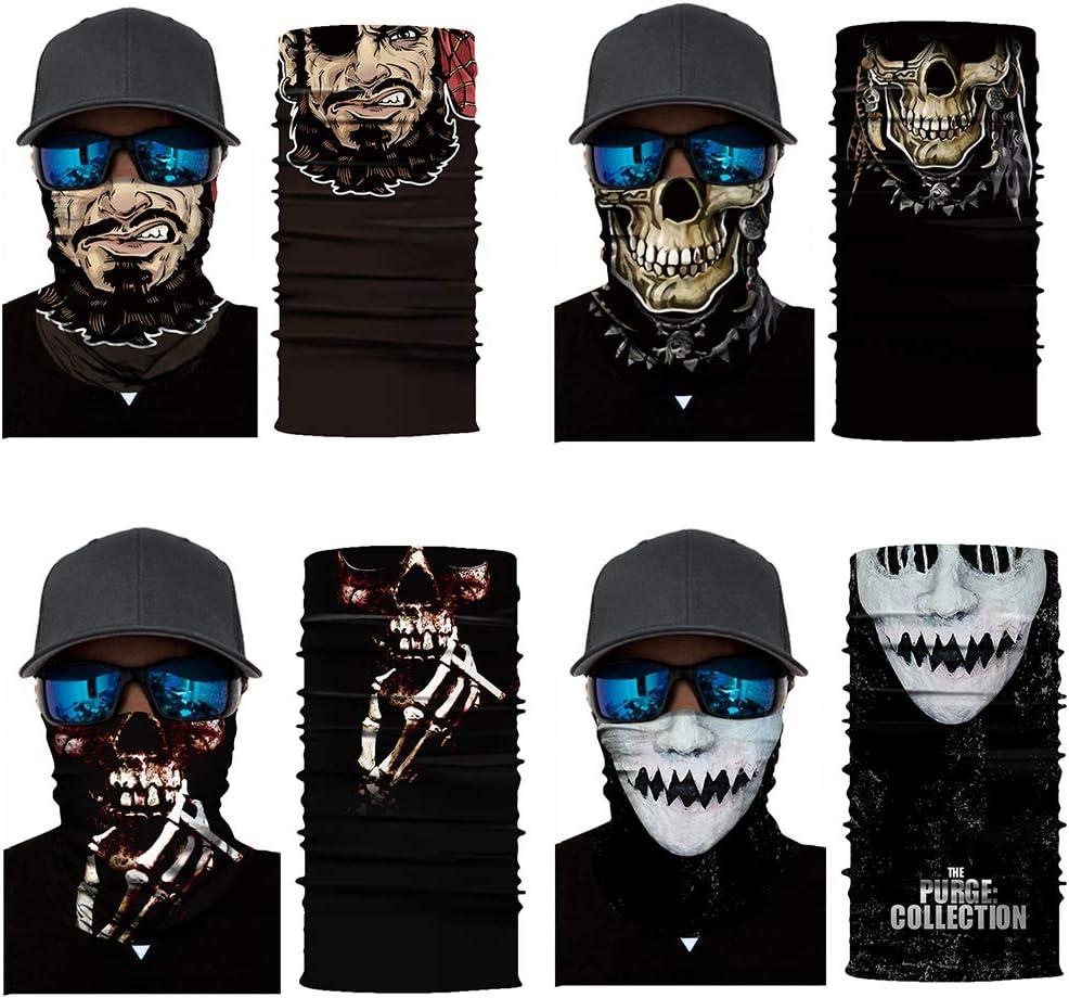 Cool Robot Mask Scarf Joker Headband Balaclavas for Cycling Fishing Ski Motorcycle AC361