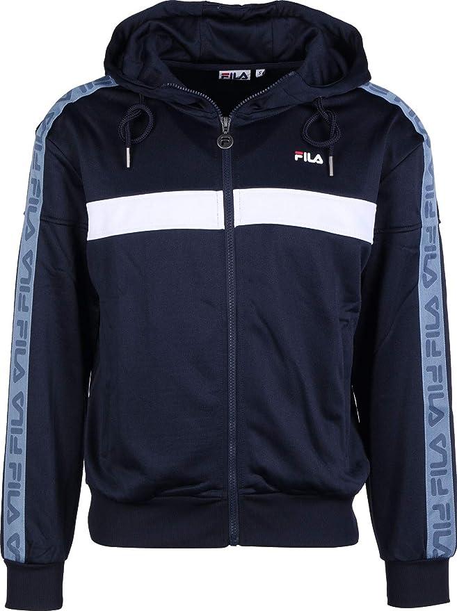 TALLA XS. Fila Teela Track Hooded Zip, Chaqueta Deportiva