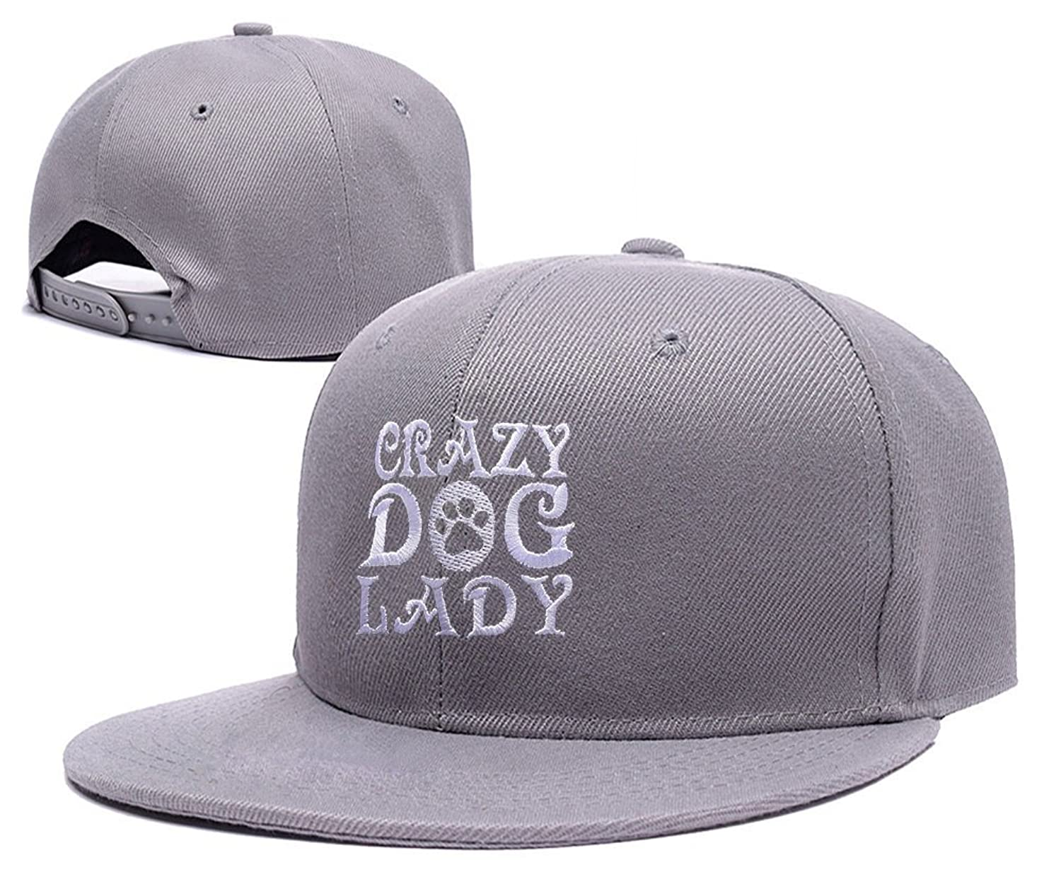 DEBANG Crazy Dog Lover Woof Paw Embroidery Adjustable Snapback Baseball Cap Hat
