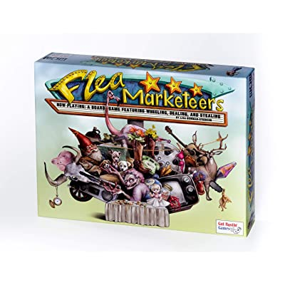 Gut Bustin\' Games Flea Marketeers Board Game: Toys & Games [5Bkhe0201799]
