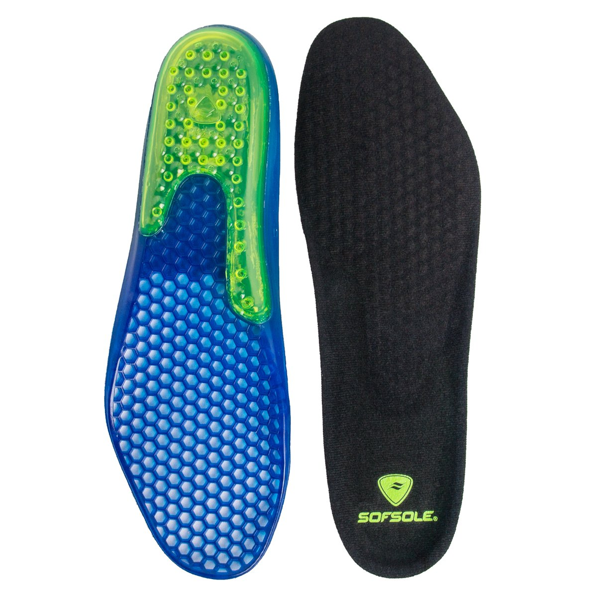 Sof Sole Airr Gel Shoe Inserts Arch Support Shock Absorbing Breathable Walking Running Shoe Insoles by Sof Sole (Image #4)