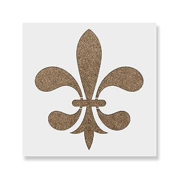 Image Unavailable Not Available For Color Fleur De Lis Stencil