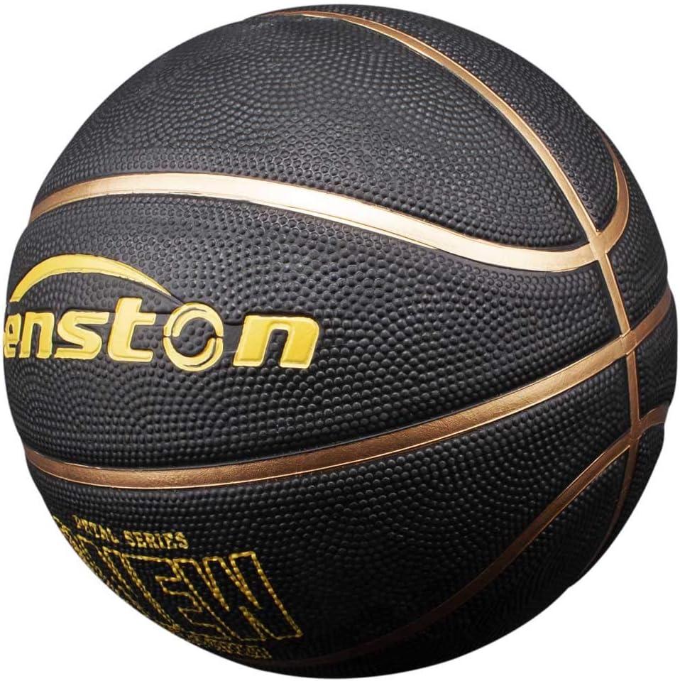 Taille 7 Ext/érieur et int/érieur Senston Ballon de Basketball Mixte Couleur Enfant Surface Rugueuse