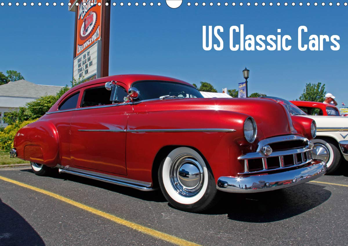 US Classic Cars  Wall Calendar 2020 DIN A3 Landscape