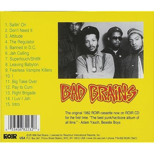 Bad Brains                                                                                                                                                                    Explicit Lyrics