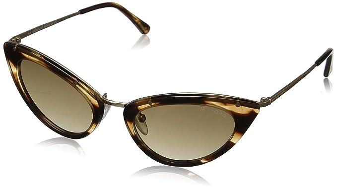 Tom Ford FT0349-gafas de sol Mujer Marrón Brown (Shiny Rose ...