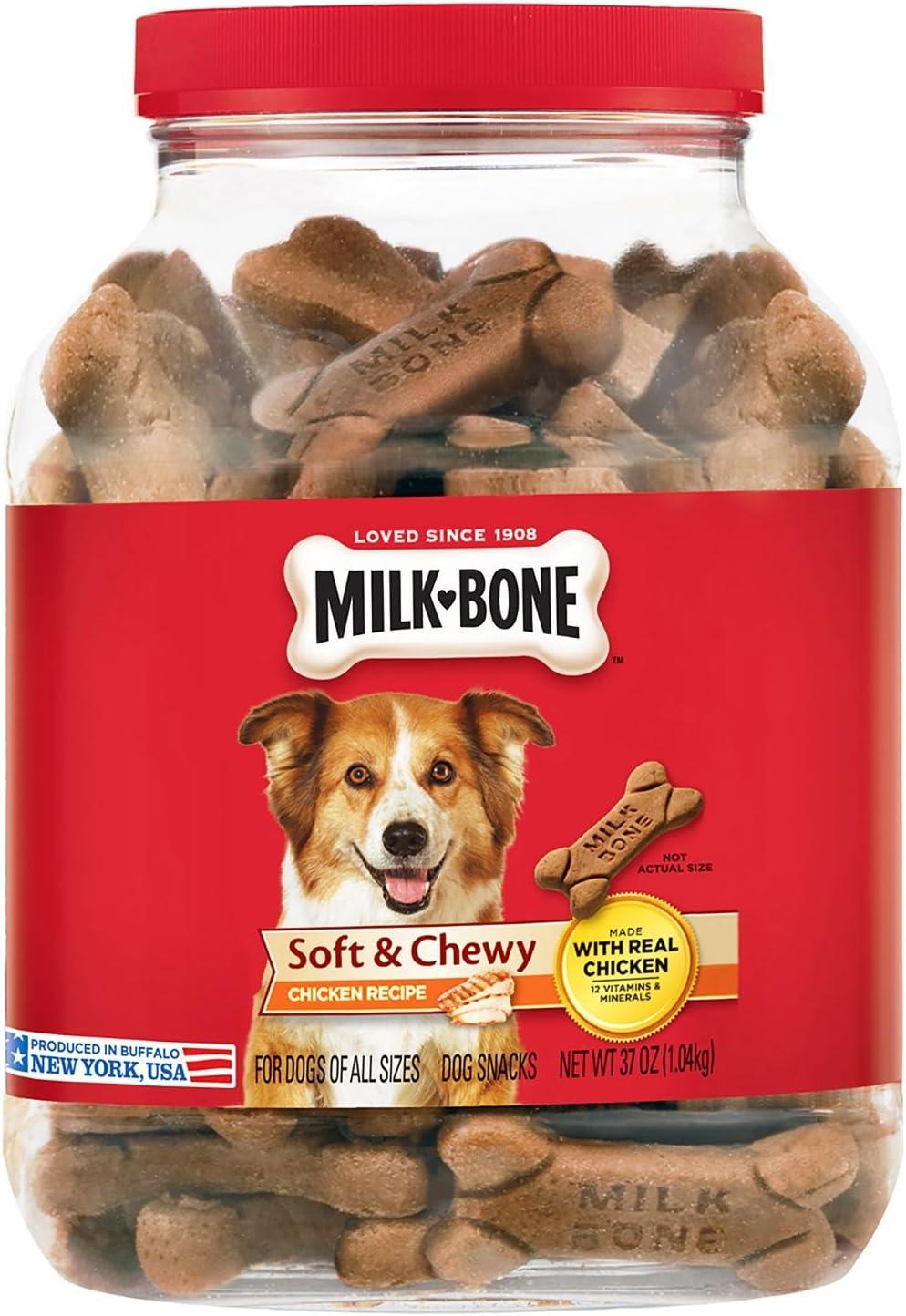 Milk-Bone Soft Chewy Chicken Recipe Treats 37 oz