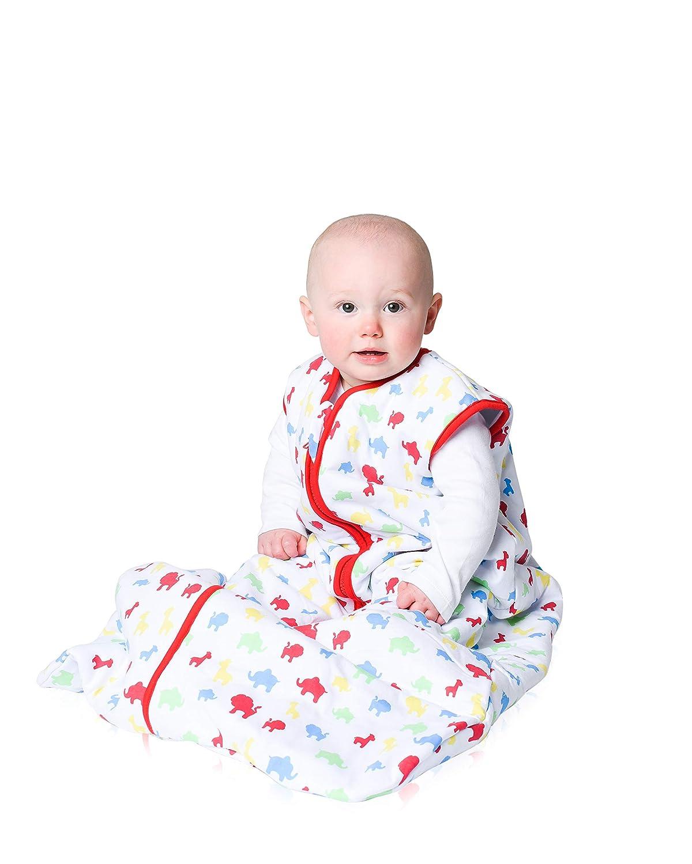 76cm Snoozebag Baby Sleeping Bag Jungle Fun 100/% Cotton 2.5 Tog Unisex Nursery Multi-Coloured 0-6 Months