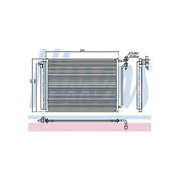 Nissens 94605 Condensador, Aire Acondicionado