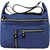 Zbeibei Women's Nylon Shoulder Bags Crossbody Messenger Bags Casual Travel Handbag