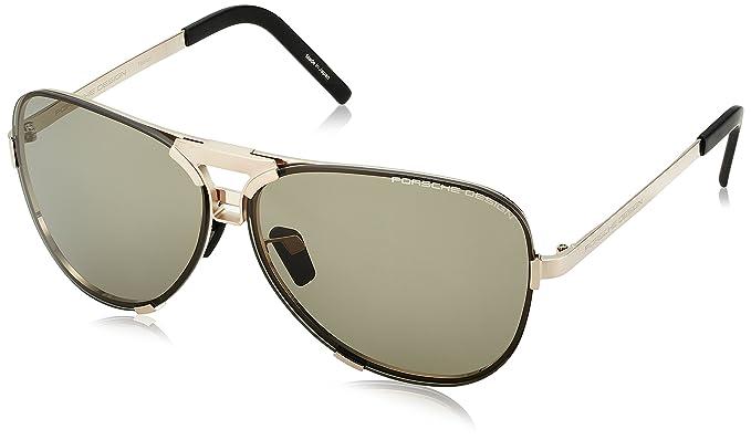 Amazon.com: Porsche Design P8678 - Gafas de sol para hombre ...