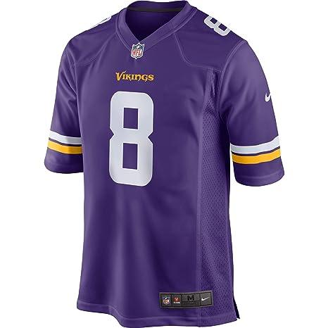 0f1ecfa91 Amazon.com   Nike Kirk Cousins  8 Minnesota Vikings Youth Game Jersey -  Purple   Sports   Outdoors