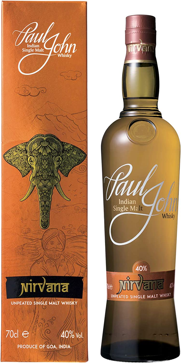John Paul Nirvana Indian Single Malt Indischer Whisky