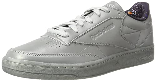fa952983161 Reebok Men s s Club C 85 Tdg Gymnastics Shoes Grey (Silver Met snowygrey)  6.5