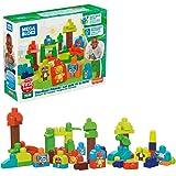 Mega Bloks First Builders, Sustentable - Amigos del Bosque , Juguete para Bebés de 1 año en adelante