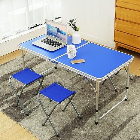 TTZDZ Mesas y sillas Plegables Campana Exterior portátil ...