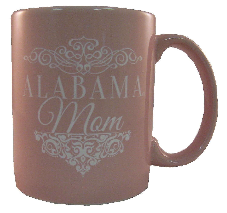 Nordic Promos NCAA 11 oz Mom with Team Logo Pink Ceramic Coffee Mug
