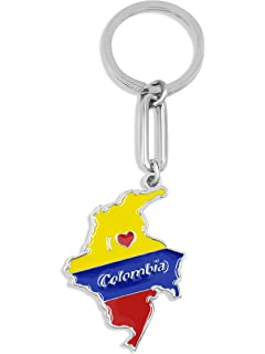 Amazon.com: Colombia Flag Boy Keychain: Automotive