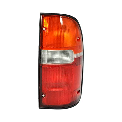 Tail Light Lamp for 1995-2000 Toyota Tacoma TO2800116 8156004030 - INCLUDES BULBS: Automotive
