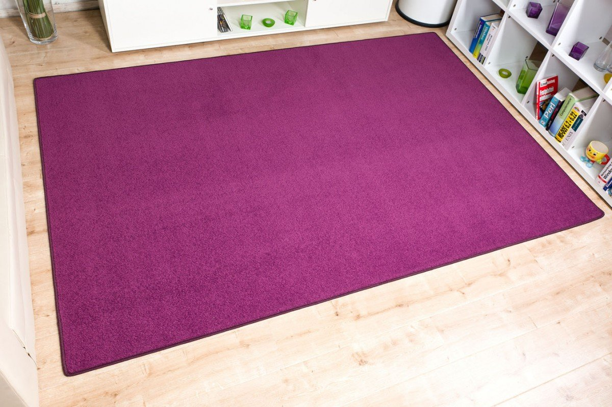 Havatex Velours Teppich Trend - schadstoffgeprüft und pflegeleicht pflegeleicht pflegeleicht   schmutzabweisend robust strapazierfähig   Wohnzimmer Schlafzimmer, Farbe Blau, Größe 240 x 360 cm B00A4VIEYE Teppiche 84dc3b