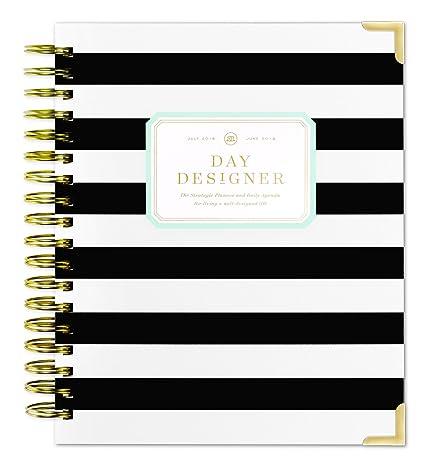 amazon com day designer daily planner 2018 19 original flagship