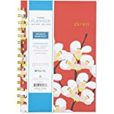 """Snow & Graham for Blue Sky 2018 Weekly & Monthly Planner, Hardcover, Twin-Wire Binding, 5"""" x 8"""", Quince"""