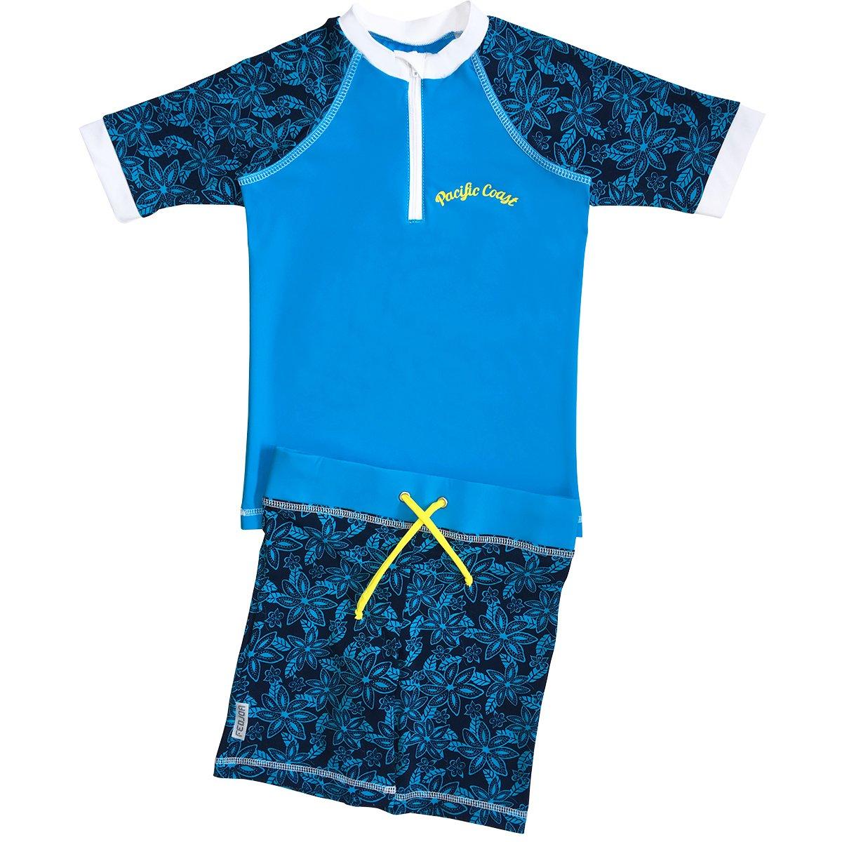 Franz/ösische Design FEDJOA Baby M/ädchen UV Schutz Schwimmanzug HAWA/Ï