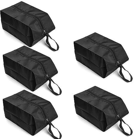 Amazon.com: Iunio zapato bolsa de viaje juego de 5 Nylon ...