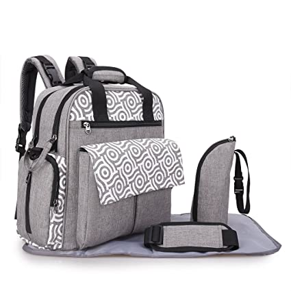 693d4014e2 Visionreast Baby Changing Bag Backpack, Security No Chemical Residue Baby  Rucksack, Waterproof Diaper Nappy