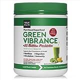Vibrant Health, Green Vibrance, Plant-Based Superfood Powder, Vegan Friendly, 60 Servings