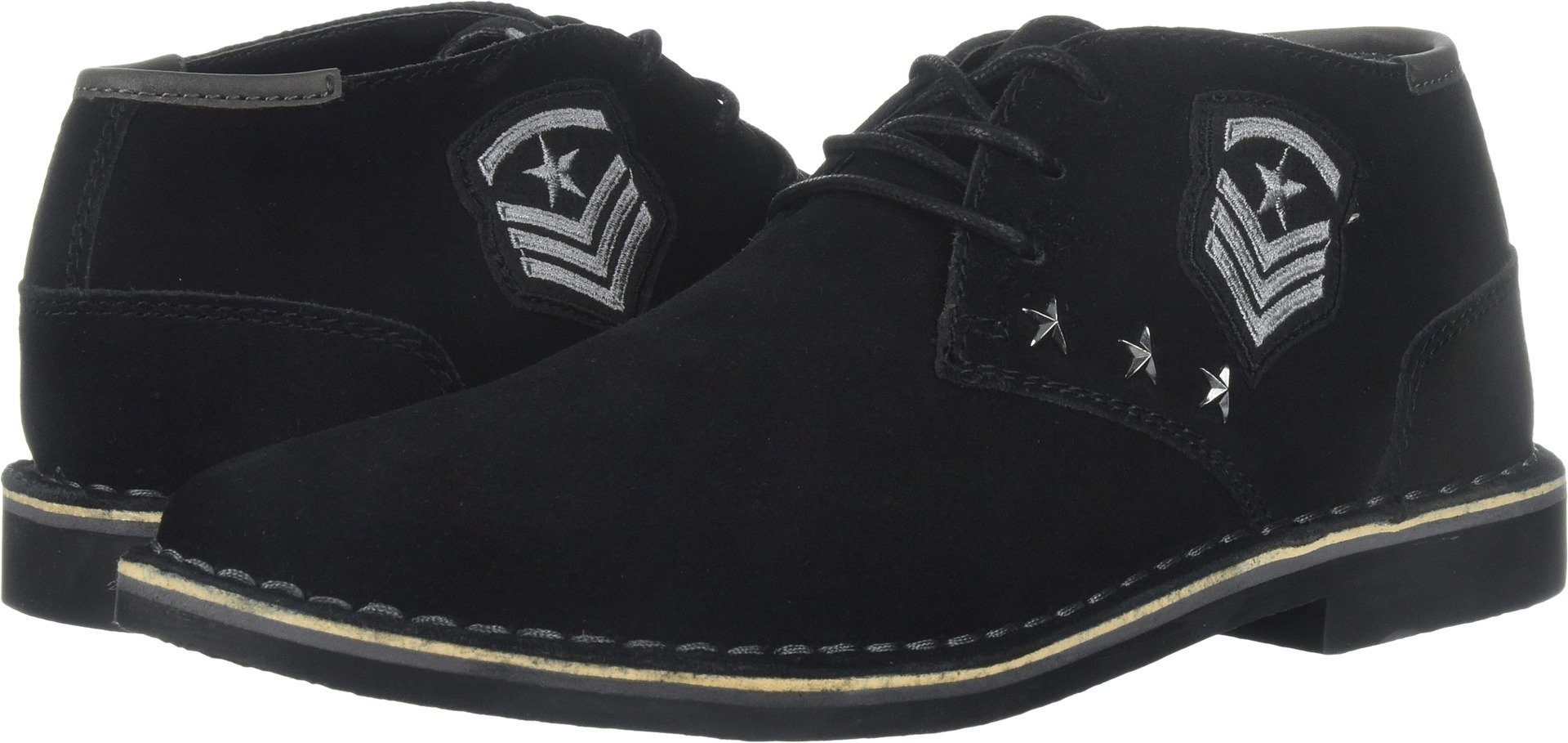Kenneth Cole REACTION Men's Desert Sun Chukka Boot,Black Suede,11.5 M US