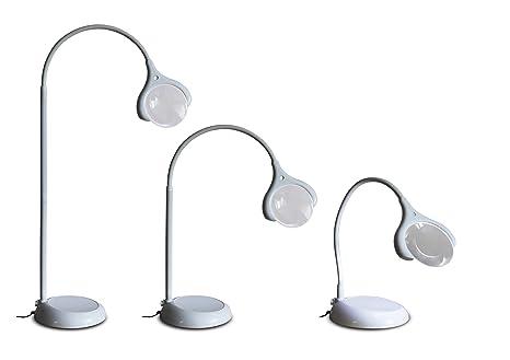 Lampe Loupe A Led Sur Pied Ou Table Daylight E25050 Amazon Fr