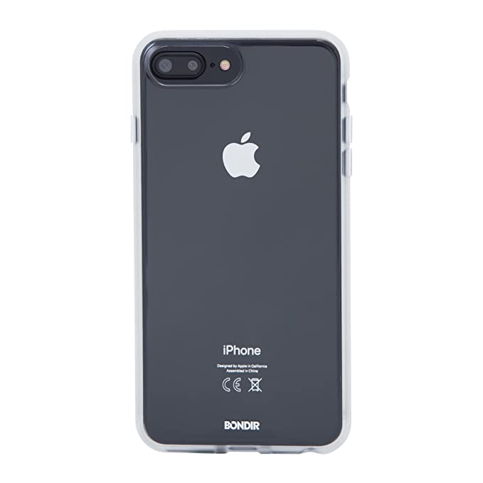 official photos 2c6e5 9a817 Bondir Clear Coat Series, Clear [Military Drop Test Certified] Cell Phone  Case for Apple (5.5