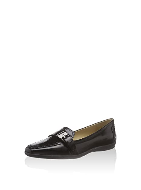 Geox Mocasines Clásicos Kalinda Negro EU 36: Geox: Amazon.es: Zapatos y complementos