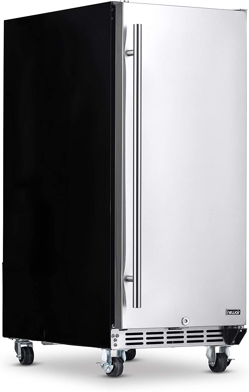 NewAir NOF090SS00 Outdoor Beverage Fridge, Stainless Steel
