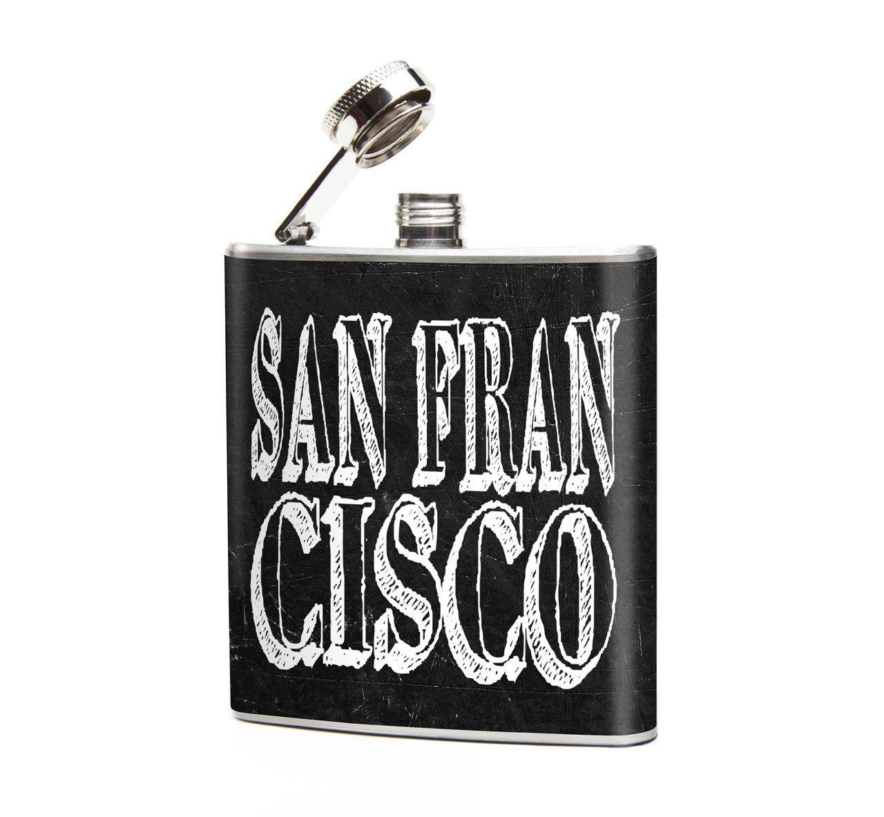 激安正規品 Oso Oso San and and Bean San Franciscoグラフィックデザイナヒップフラスコ B01M361F38, モンタナ 出産祝いブランドギフト:95f8a5b3 --- a0267596.xsph.ru