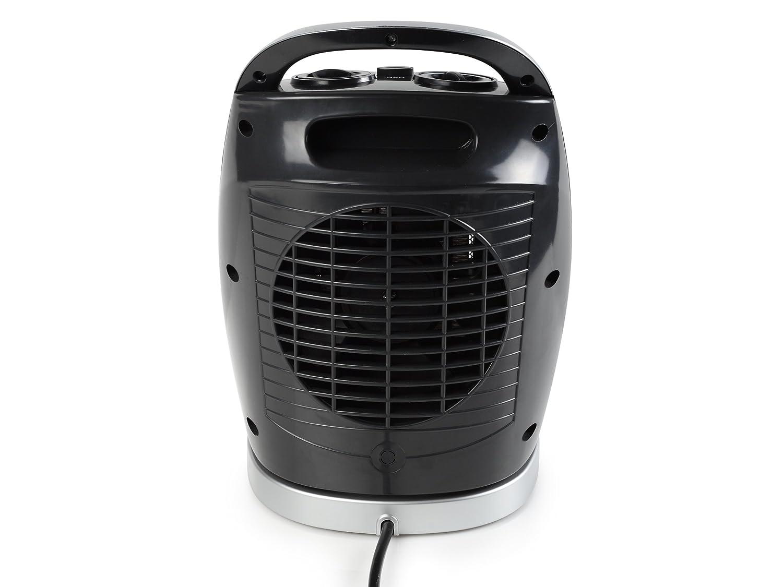 Tristar KA-5038 Calefactor Eléctrico (Cerámico), 1500 W, Gris, Plata: Amazon.es: Hogar