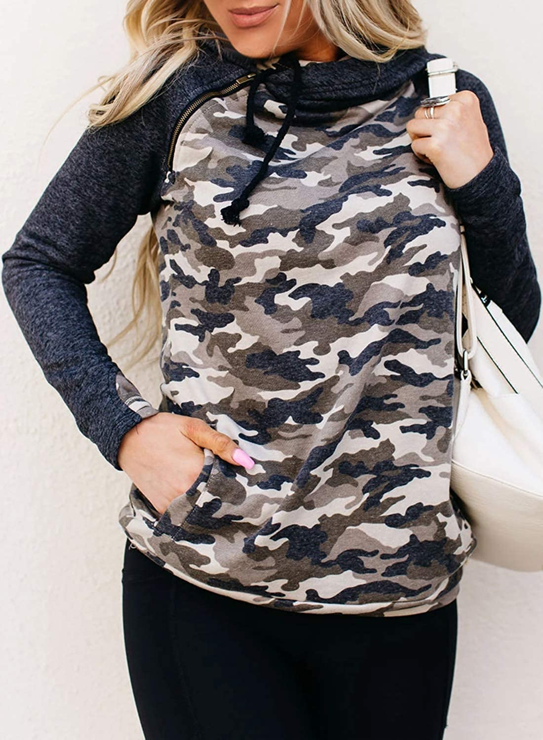 Asvivid Women's 3 4 Sleeve Floral Print T-Shirts Casual Striped Blouse Tops Z-gray