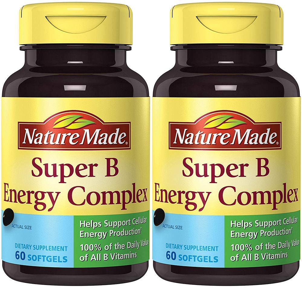 Amazon.com: Nature Made Super Complejo B hnomh recuento ...