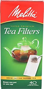 Melitta Inc, Melitta Filters Tea, 40 Count