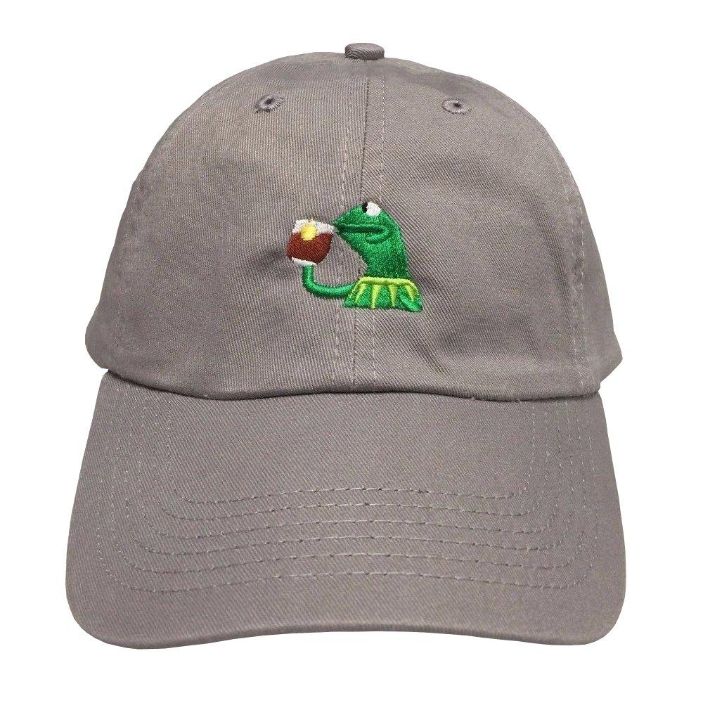 71q33NcAe5L._UL1000_ amazon com kermit tea hat strapback none of my business emoji