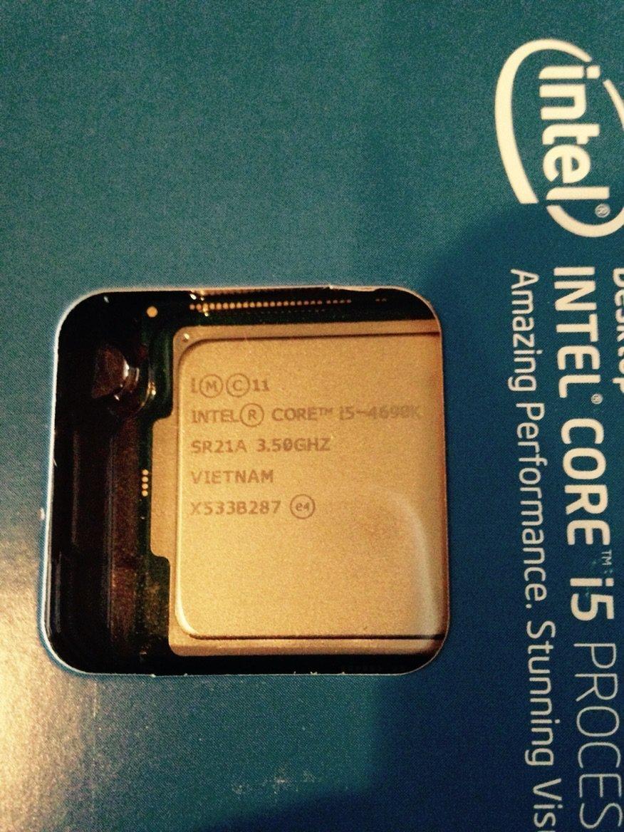 Intel Core i5 4690K Processor (3 5 GHz, 6 MB Cache, LGA1150 Socket)
