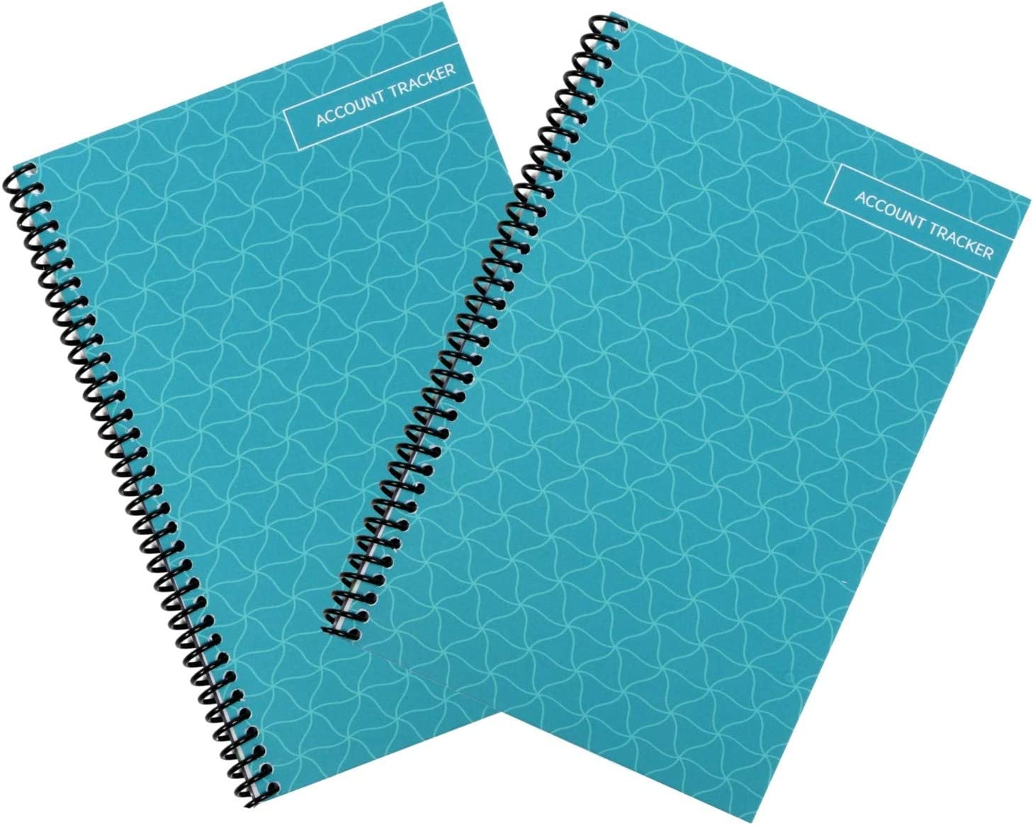 Superior Check and Debit Card Register - Simple Account Tracker - Teal - 2-Pack