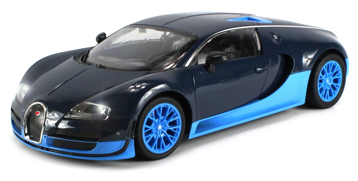 Amazon.com: Licensed Bugatti Veyron 16.4 Super Sport Electric RC Car Big  1:12 Scale RTR W/ Bright LED Lights, Working Suspension, Official  Trademarks ...