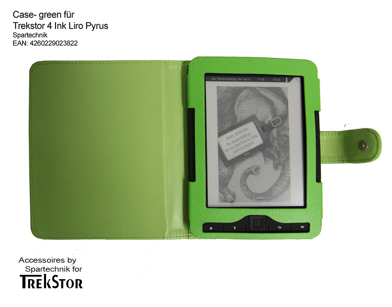 Spartechnik - Funda para e-reader Trekstor 4 Ink 4.0, color verde ...