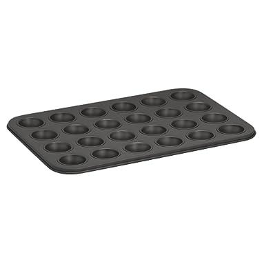 Baker's Secret 1114369 Essentials 24-Cup Muffin Pan, Mini