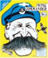 Adult Fancy Party Dress Accessory Self Adhesive Artificial Hair Xmas Moustache