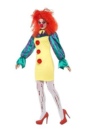 Smiffys 47563XS - Disfraz de payaso de horror para mujer ...