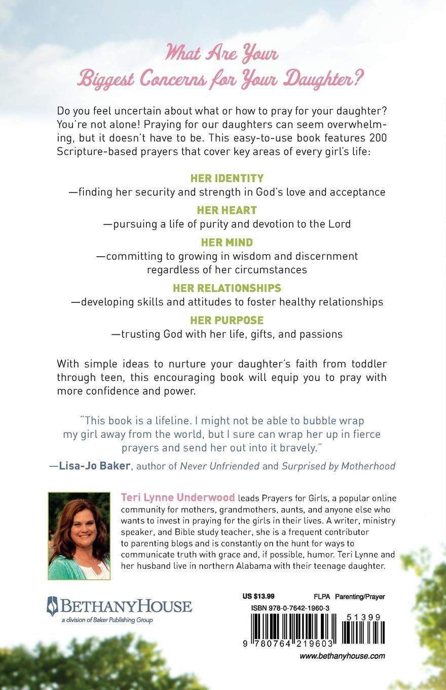 Praying for Girls: Asking God for the Things They Need Most: Teri Lynne  Underwood: 9780764219603: Amazon.com: Books